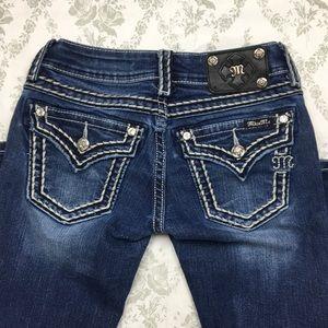 Miss me jeans signature boot Sz 25 x 32.5